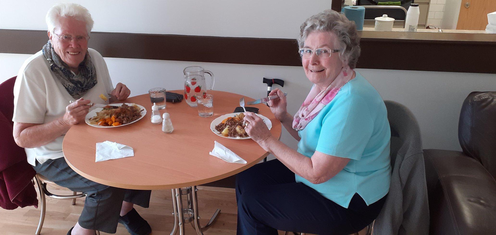 Hub Café Guests